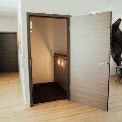 interior door with elevator