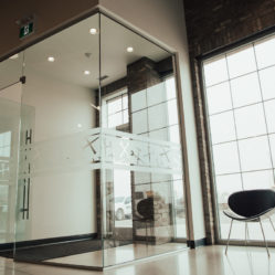 commercial windows interior and exterior door